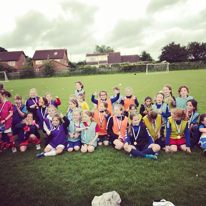 Girls Football (School Years 3 to 7) - Saturday Morning image