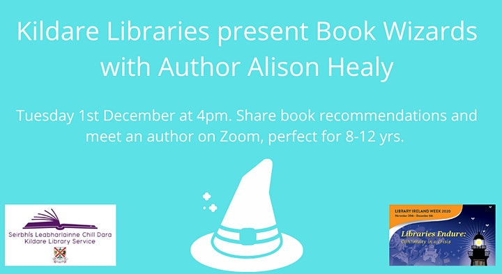 Book Wizards with Author Alison Healy image