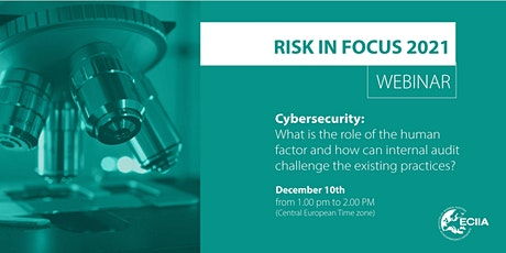 Cybersecurity : role of the human factor tickets