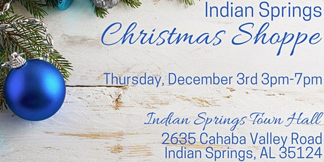 Indian Springs Christmas Shoppe tickets