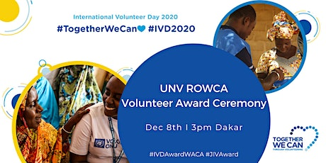 UNV ROWCA Volunteer Award - Award Ceremony tickets