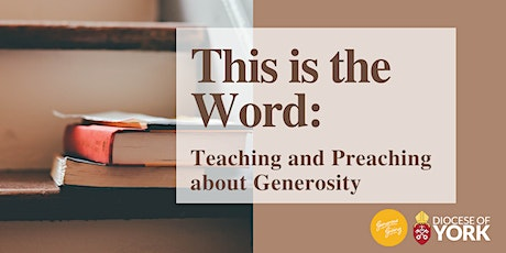This is the Word: Teaching and Preaching about Generosity tickets