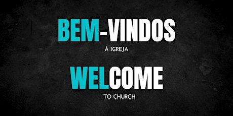 Culto de Domingo | Sunday Service bilhetes