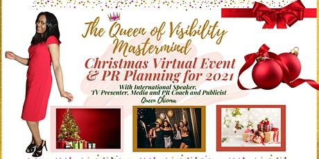 The Queen of Visibility Christmas Virtual Event + PR Planning for 2021 tickets