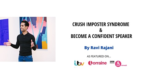 Crush Imposter Syndrome & Become A Confident Speaker on Video & In Person tickets