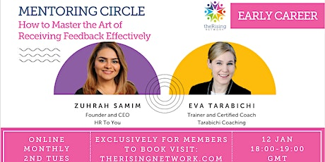Mentoring Circle: How to Master the Art of Receiving Feedback Effectively tickets