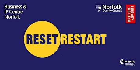 Reset. Restart: Networking event tickets