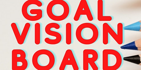 Goal Vision Board Drawing Workshop (Online Zoom) ART tickets