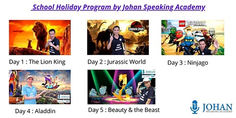 Speaker Warrior by Johan Speaking Academy - December School Holiday Program tickets