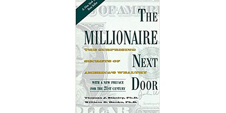 Book Review & Discussion : The Millionaire Next Door tickets