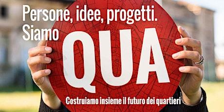 """""""QUA"""" - Laboratorio di Cittadinanza  - AMBITO F biglietti"""