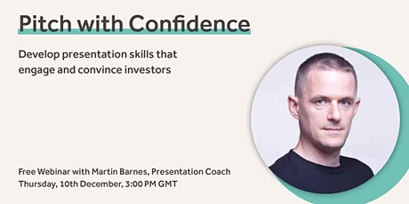 Pitch with Confidence tickets