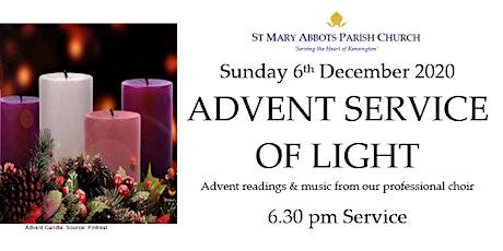 Advent Service of Light tickets
