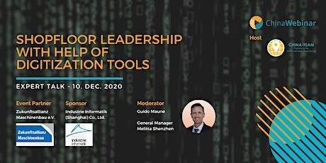 "Expert Talk ""Shopfloor leadership with help of digitisation tools "" billets"
