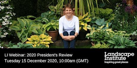 LI Webinar: 2020 President's Review tickets