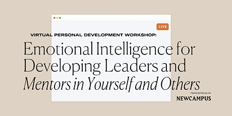 Workshop | Emotional Intelligence for Developing Leaders & Mentors tickets