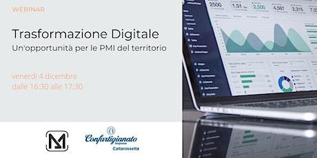Trasformazione Digitale. Un'opportunità per le PMI del territorio biglietti