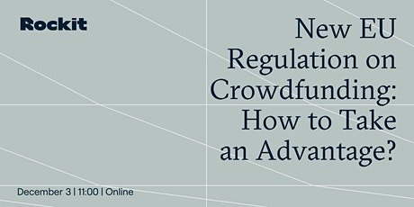New EU regulation on crowdfunding: How to Take an Advantage? tickets