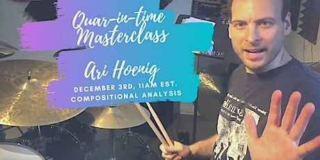 Quar-in-time with Ari Hoenig - December 3rd