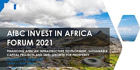 AfBC Invest in Africa Forum 2021 entradas