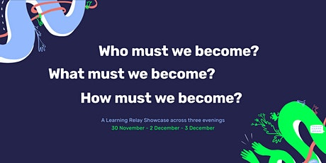 Who must we become? tickets