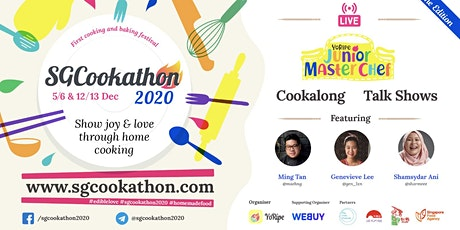 Fun & Free Holidays Activities / SG Cookathon 2020 tickets
