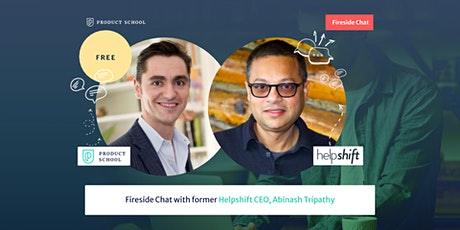 Fireside Chat with Helpshift CEO, Abinash Tripathy tickets