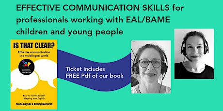 EFFECTIVE COMMUNICATION SKILLS tickets