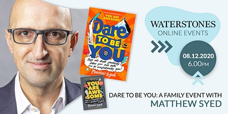 Dare To Be You: a family event with Matthew Syed tickets