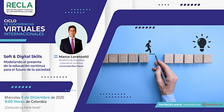 Weninario: Soft & Digital Skills modelando el presente de la EC entradas