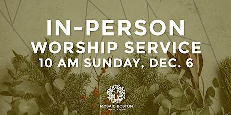 Mosaic Boston JP In Person  Church Service tickets