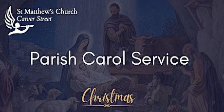 St Matthew's Parish Carol Service tickets