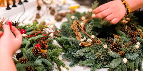 Deck the Halls With Your Own Holiday Wreath tickets
