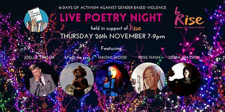 Live Poetry Night in Support of RISE tickets