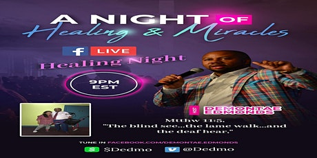 A Night of Healing & Miracles tickets