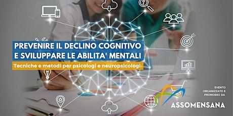 Prevenire il declino cognitivo e sviluppare le abilità mentali - webinar biglietti