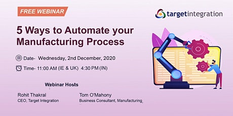 5 Ways to Automate your Manufacturing Process tickets