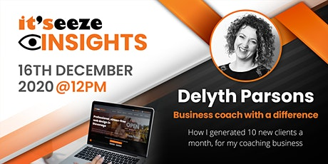 it'seeze insights - BUILD AND MARKET YOUR WEBSITE AND BUSINESS tickets