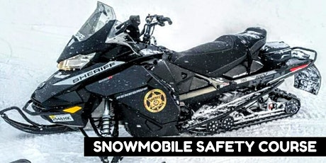 FREE -  Snowmobile Safety Course (safe with social distancing rules) tickets