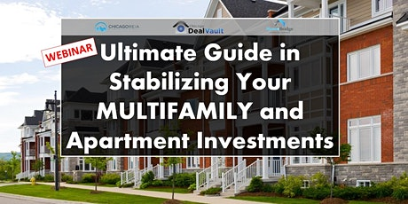 Ultimate Guide in Stabilizing Your Multifamily and Apartment Investments tickets