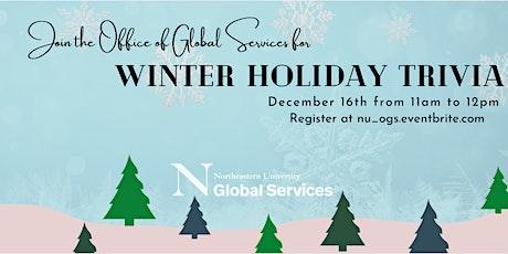 Winter Holiday Trivia tickets