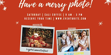Free Holiday Photos at Cali Coffee - Choose Christmas or Hannakah tickets