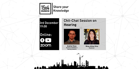 15x4 Chit-Chat Sessions 6:  Hearing tickets