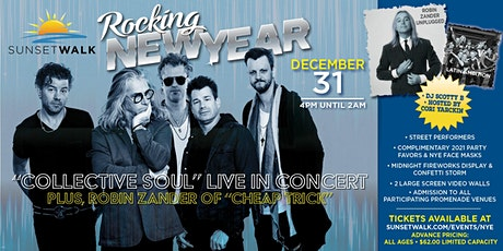 Sunset Walk Rocking New Year - Concert & Street Party tickets