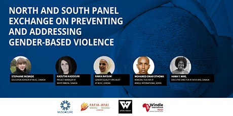 North & South Panel Exchange: Preventing and addressing GBV tickets