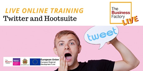 LIVE ONLINE – Twitter and Hootsuite Workshop 1pm to 4pm tickets