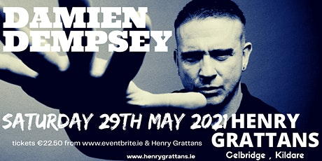 Damien Dempsey Live at Henry Grattans tickets