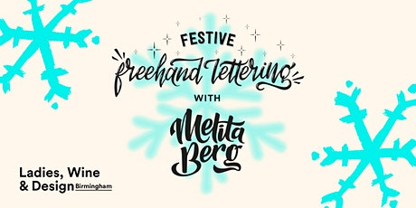 Festive Freehand Lettering with Melita Berg tickets