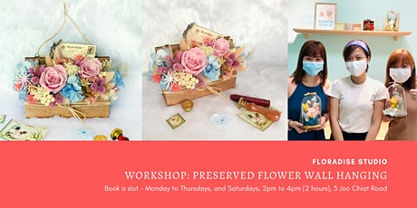 Workshop: Preserved Floral Wall Hanging tickets