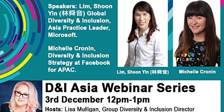 How have the cultural events of 2020 impacted the D&I agenda in Asia? tickets
